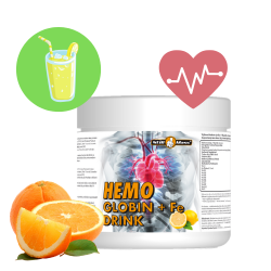 Hemoglobin+ Fe drink 400g orange