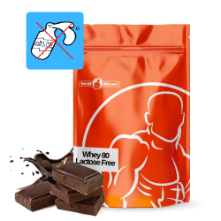 Whey 80 lactose free 2,5 kg |Chocolate