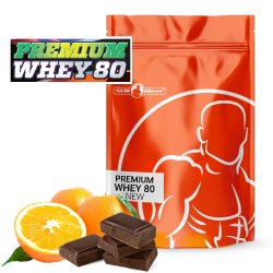 Premium whey 2,6 kg Chocolate orange