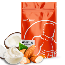 Whey 80 instant 2,5kg |Almond/coconut/cream
