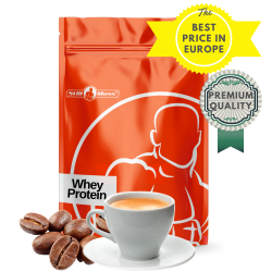 Whey protein 1kg |Coffee